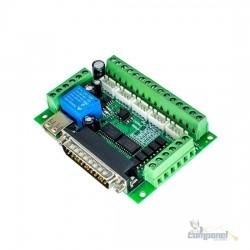 Placa Controladora De Interface Cnc 5 Eixos